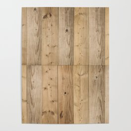 Wood 6 Light Poster