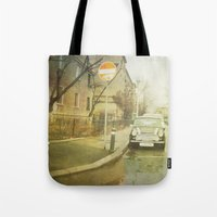 mini Tote Bags featuring Mini by Esco