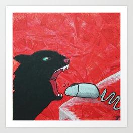 Mousebite Art Print
