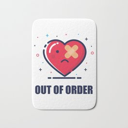 Out of order Bath Mat
