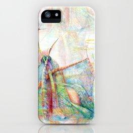 Vegetal color chaos iPhone Case