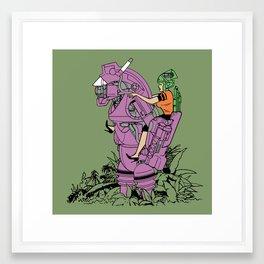 Culprit Tech Robot #2 Framed Art Print