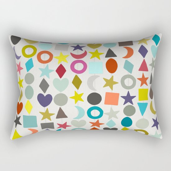 geo garland Rectangular Pillow