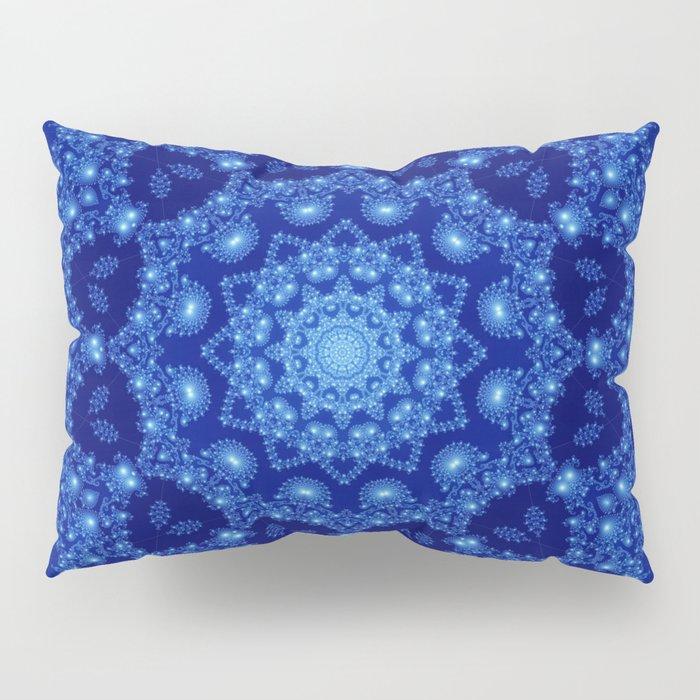 Ocean of Light Mandala Pillow Sham