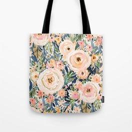 SINGER-SONGWRITER Romantic Floral Tote Bag