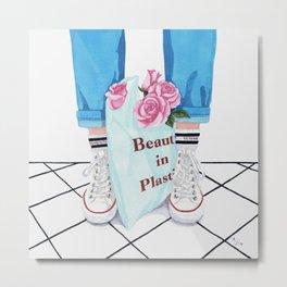 _Beauty in Plastic Bag Metal Print