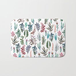 water color garden Bath Mat