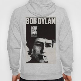 Vintage 1967 Don't Look Back Bob Dylan Movie Poster Hoody