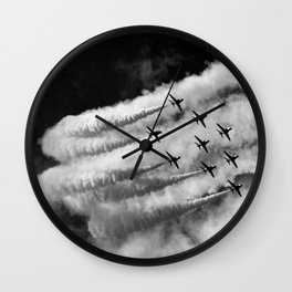 Cloud makers Wall Clock