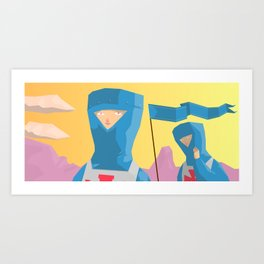 The Journey Art Print