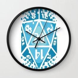 Digi-diced Wall Clock