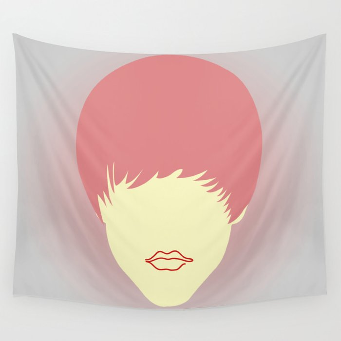Young belieber Wall Tapestry