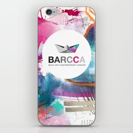 BARCCA by leo tezcucano 2 iPhone Skin