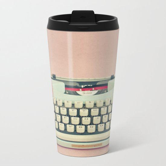 Love Letter Metal Travel Mug