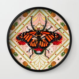 King of Insects Wall Clock