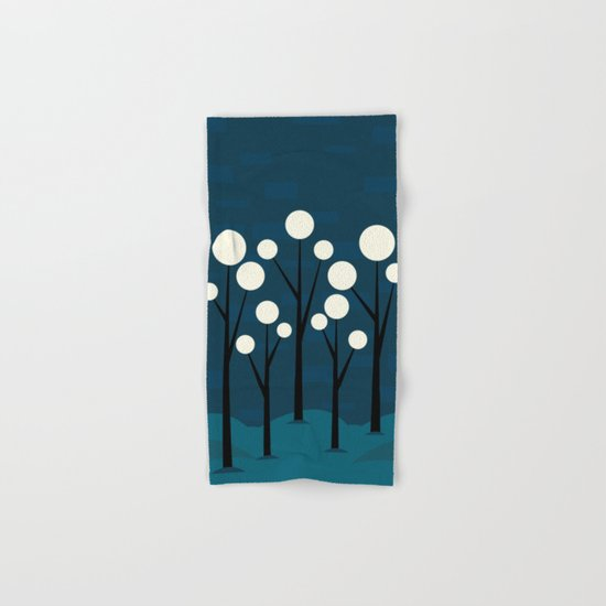 Moon Forest Hand & Bath Towel