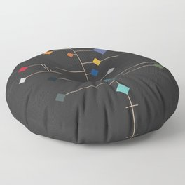 winter equinox Floor Pillow