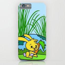 Le lapin jaune iPhone Case