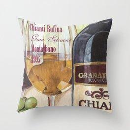 Chianti Rufina Throw Pillow