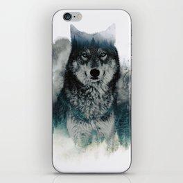 Faded Wildlife iPhone Skin