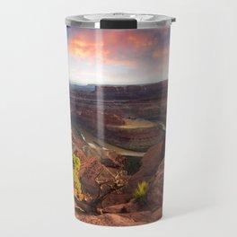 Dead Horse Point Sunset, Utah Travel Mug