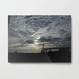 Koehlbrand bridge Metal Print