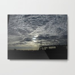 Koehlbrand bridge Metal Print