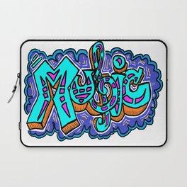 Graffiti Music Laptop Sleeve