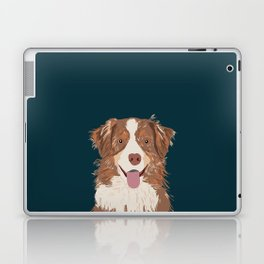 Hollis - Australian Shepherd gifts for dog owners pet lovers dog people gifts for dog person Laptop & iPad Skin