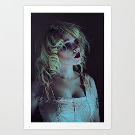 Goth Doll Art Print