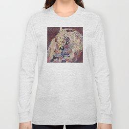 Gustav Klimt - The Maiden Long Sleeve T-shirt