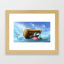Braum Poro League Of Legends Framed Art Print