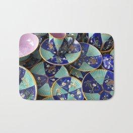 Wedgwood majolica Fan pattern Bath Mat