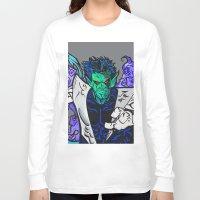 nightcrawler Long Sleeve T-shirts featuring Nightcrawler by Hugo Maldonado