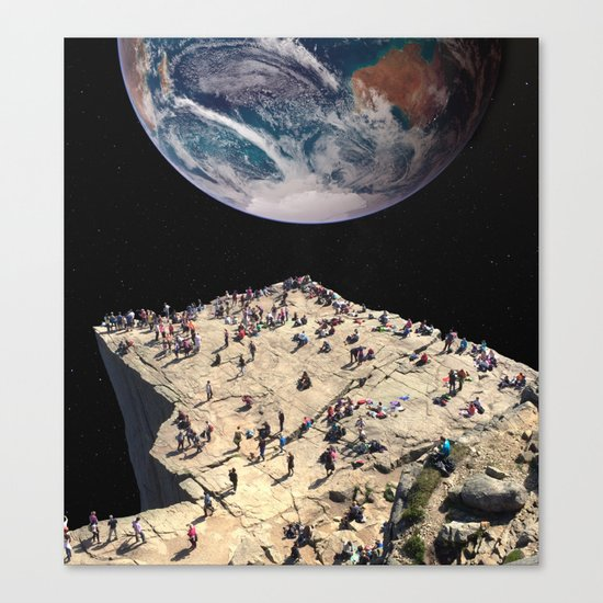 The Overview Effect Canvas Print