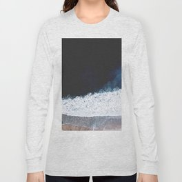 Ocean III (drone photography) Long Sleeve T-shirt