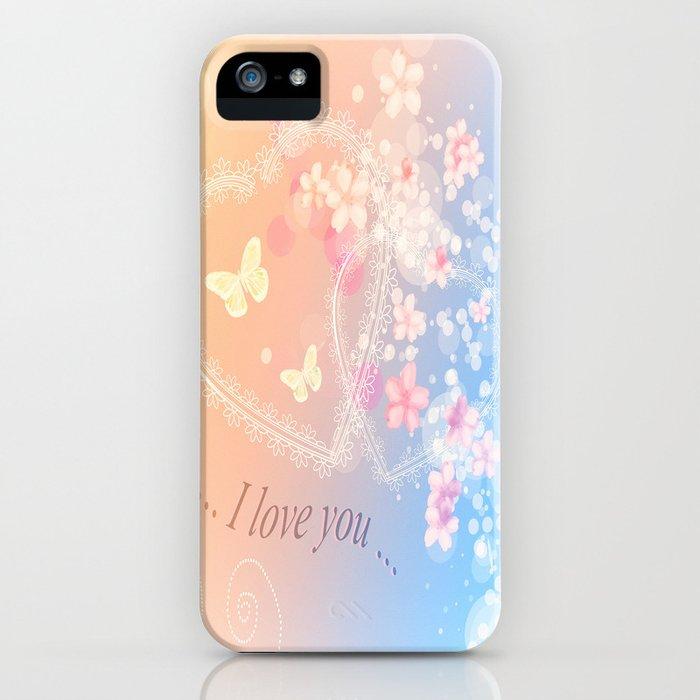 ... i love you ... iPhone Case