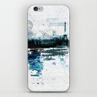 skyline iPhone & iPod Skins featuring Skyline by girardin27