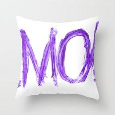Amok Throw Pillow
