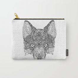 Decorative Fox Carry-All Pouch