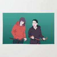 bike Area & Throw Rugs featuring BIKE by ketizoloto
