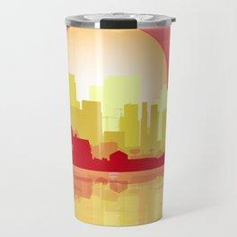 City At The Dusk Travel Mug