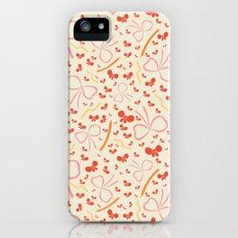 Dancing Ribbons iPhone Case