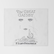The Great Gatsby Throw Blanket