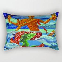 Tropical Nataraja Rectangular Pillow