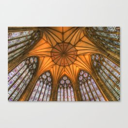 The Chapter House York Minster Canvas Print