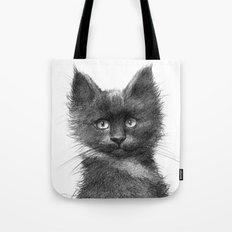 Black Kitten SK135 Tote Bag