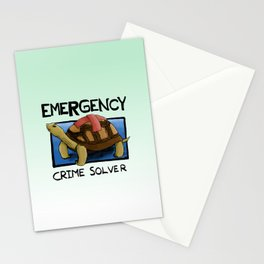 Clyde the Emergency Crime Solver! Stationery Cards