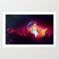 The Lion Art Print