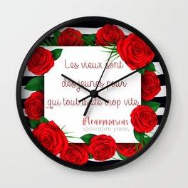 PHOBOS . VICTOR DIXEN Wall Clock